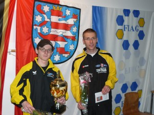 Siegerehrung Greizer Straßenlauf 2009
